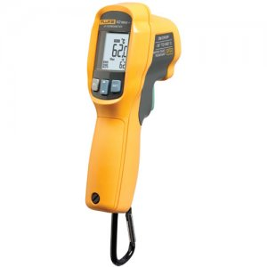 fluke-62-max-infrared-thermometer-with-dual-point-laser-sighting-30-c-to-650-c-12-1-ratio-1-accuracy